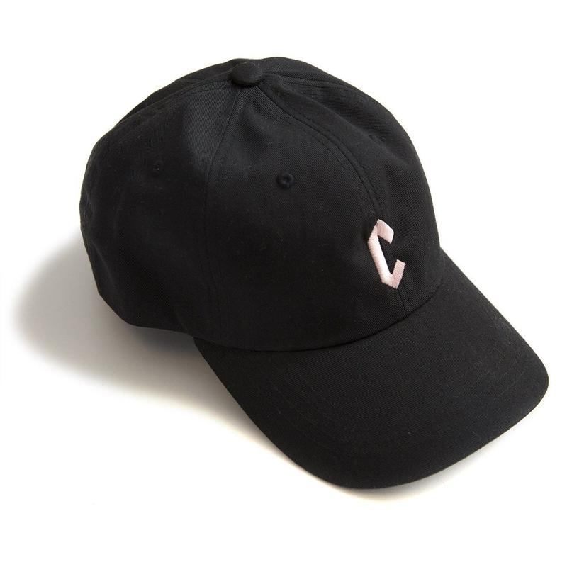 CHRYSTIE Small C Logo Hat Black