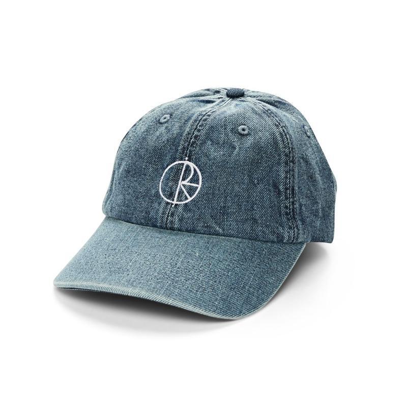 POLAR SKATE CO.  DENIM   CAPS  BLUE