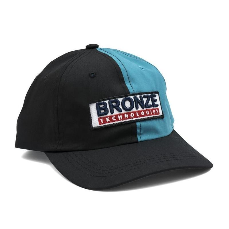 BRONZE TECHNOLOGIES PATCH HAT BLACK/TEAL
