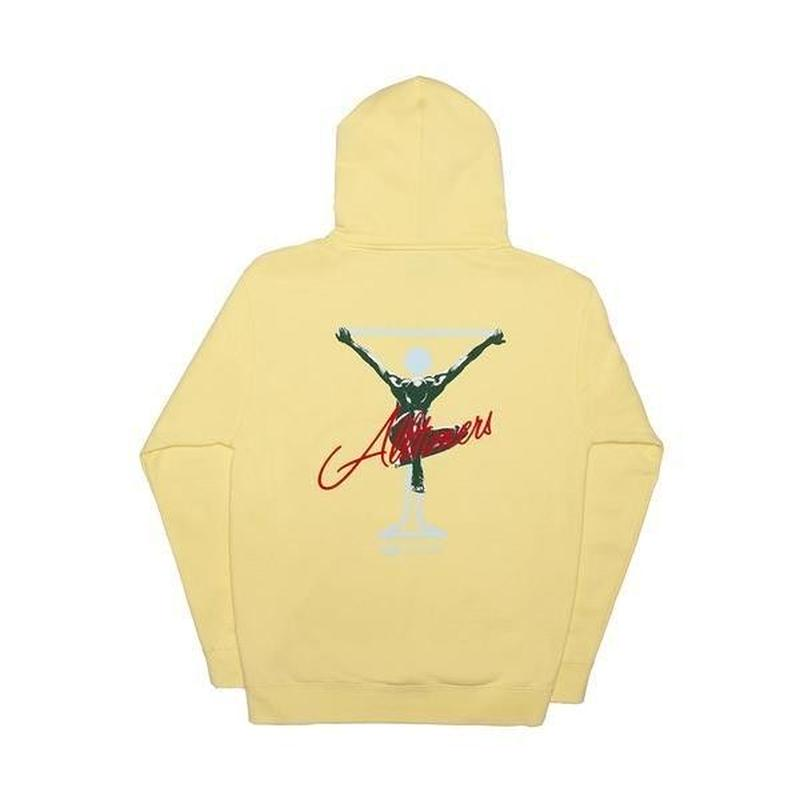 ALLTIMERS  SEALED HOODY LIGHT YELLOW