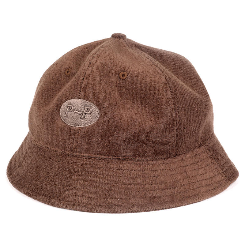 PASS PORT PILE BUCKET HAT BROWN