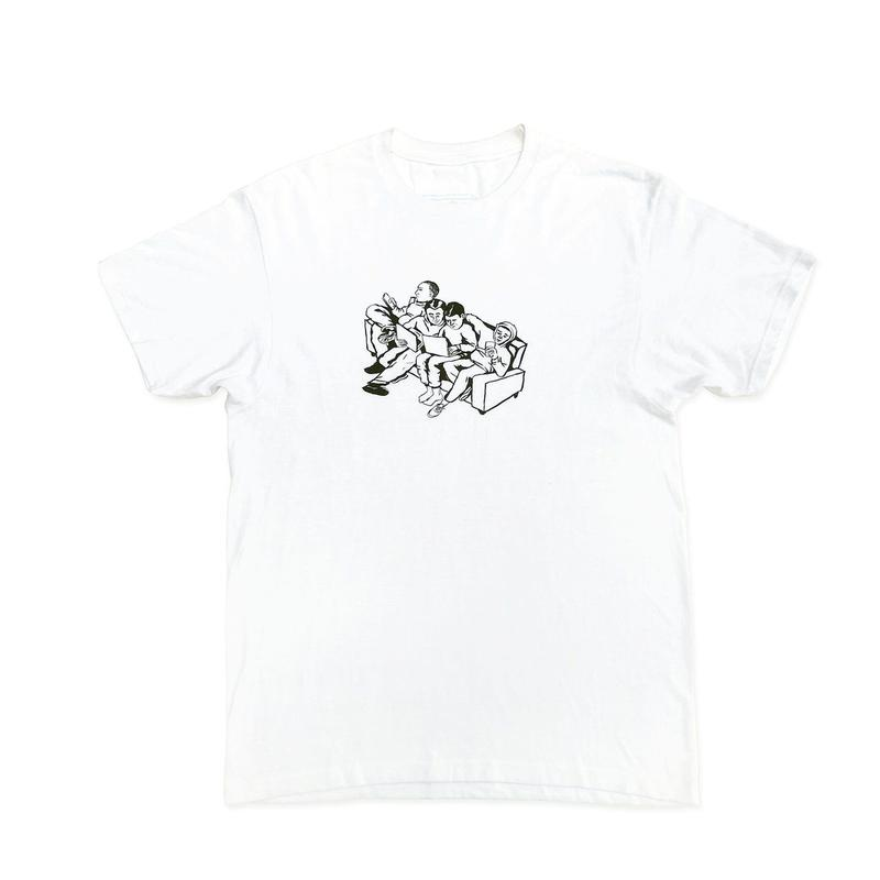LEWIS CRUISE Couch Tee White