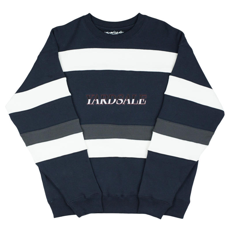YARDSALE Valentine Sweat Navy/White/Charcoal