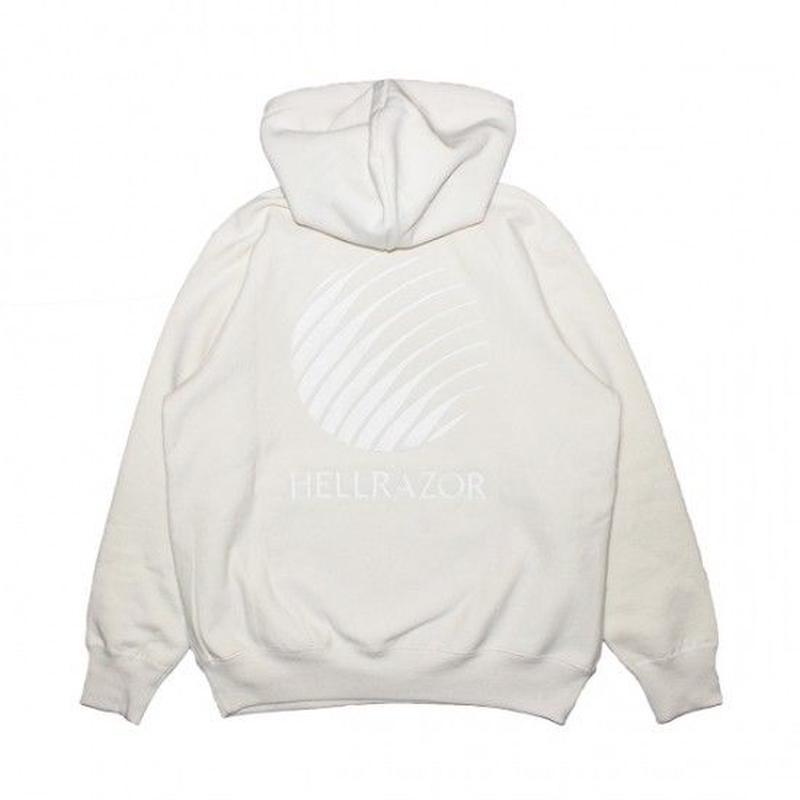 Hellrazor EMB Logo Pullover Hoodie - Natural