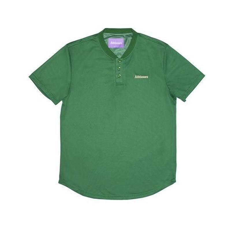 ALLTIMERS FOREIGN MESH TOP FOREST GREEN