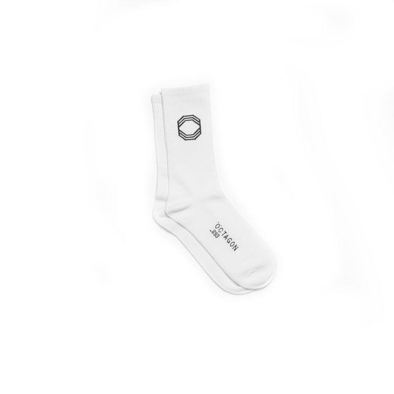OCTAGON   Socks - WHITE