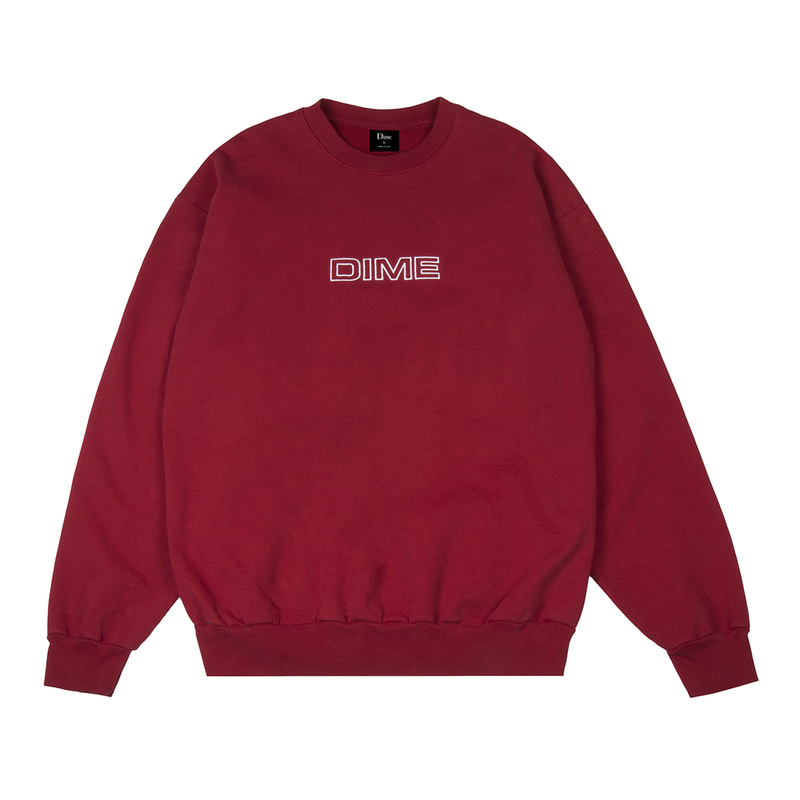 DIME IMPORTANT CREWNECK Red