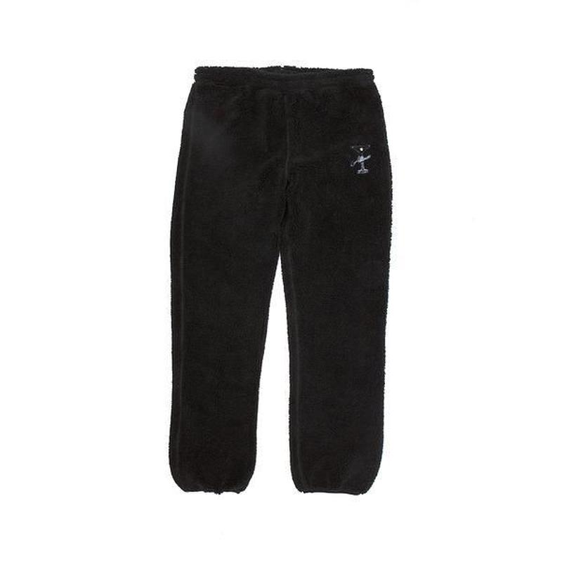 ALLTIMERS COUSINS FLEECE PANTS BLACK
