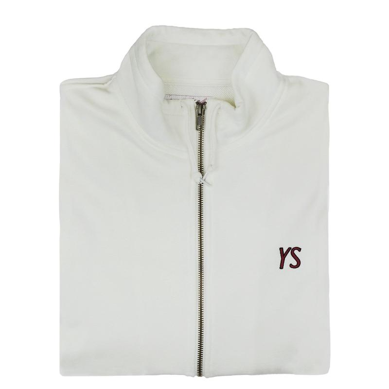YARDSALE YS Draw string full zip Cream