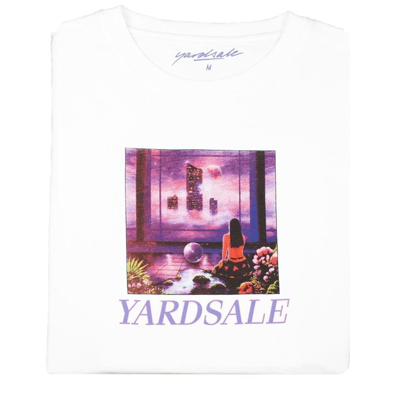 YARDSALE New World Long-sleeve Tshirt White