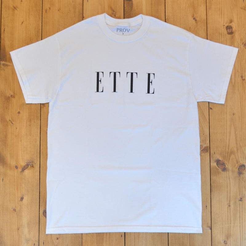 PROV ETTE T-SHIRT - WHITE