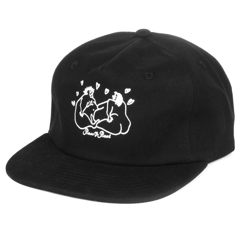 PASS PORT LUVERS 5PANEL  BLACK