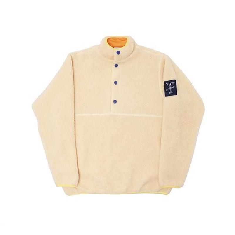 ALLTIMERS COUSINS FLEECE PULLOVER CREAM