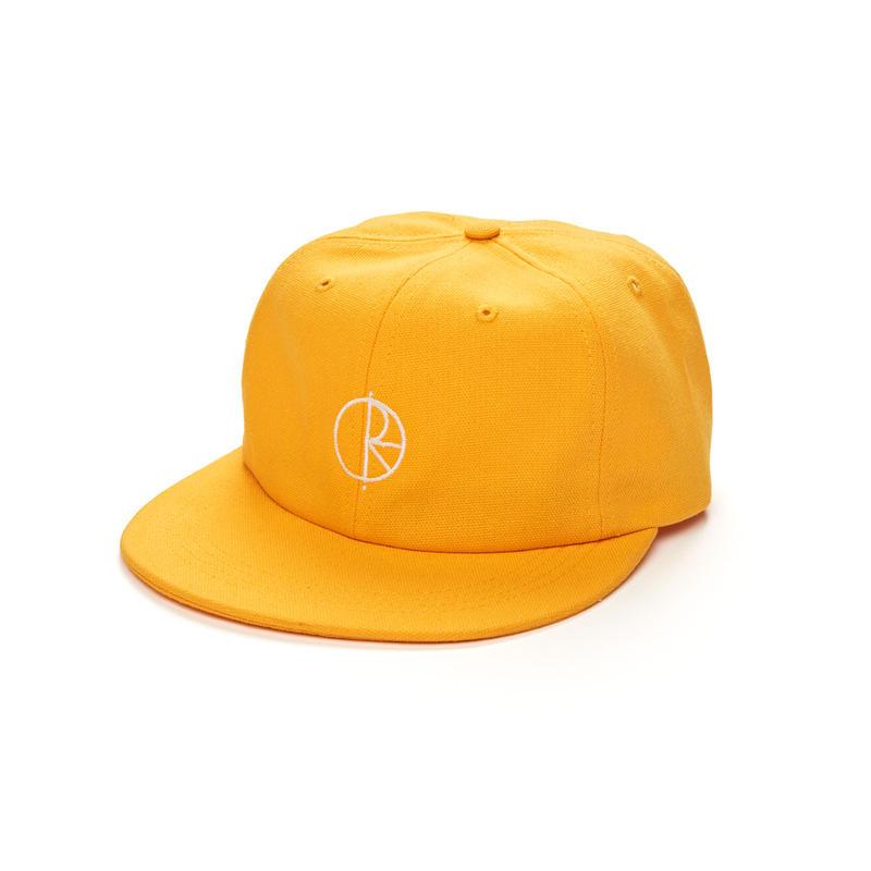 POLAR SKATE CO. CANVAS CAP Yellow