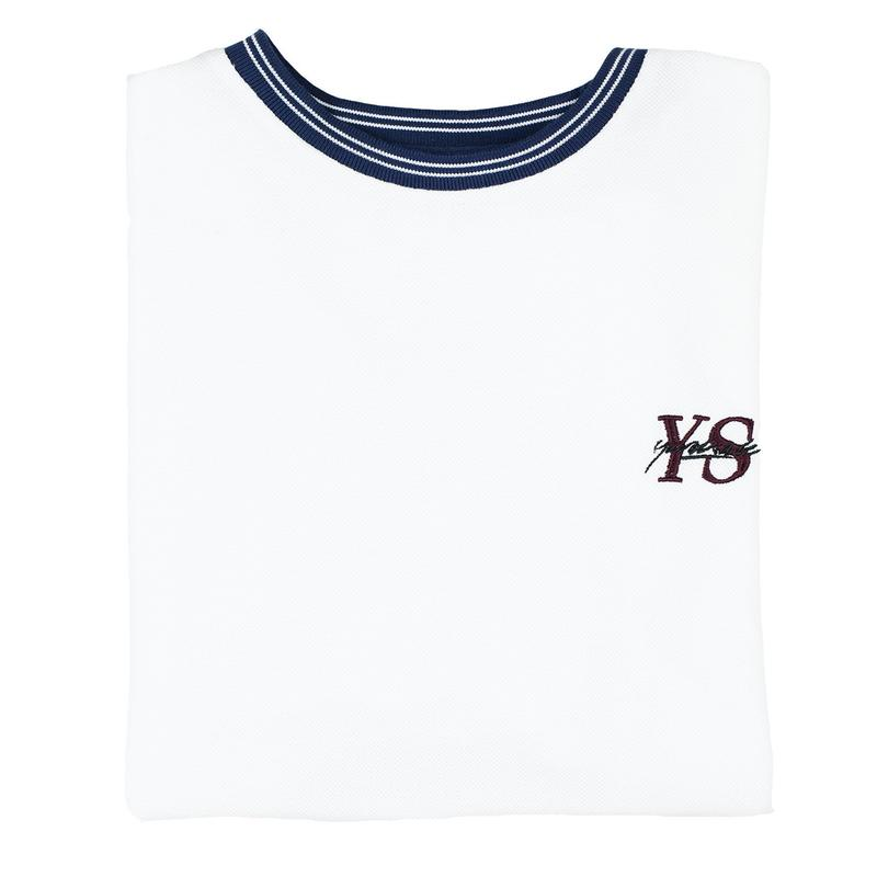 YARDSALE Polo YS T-shirt White