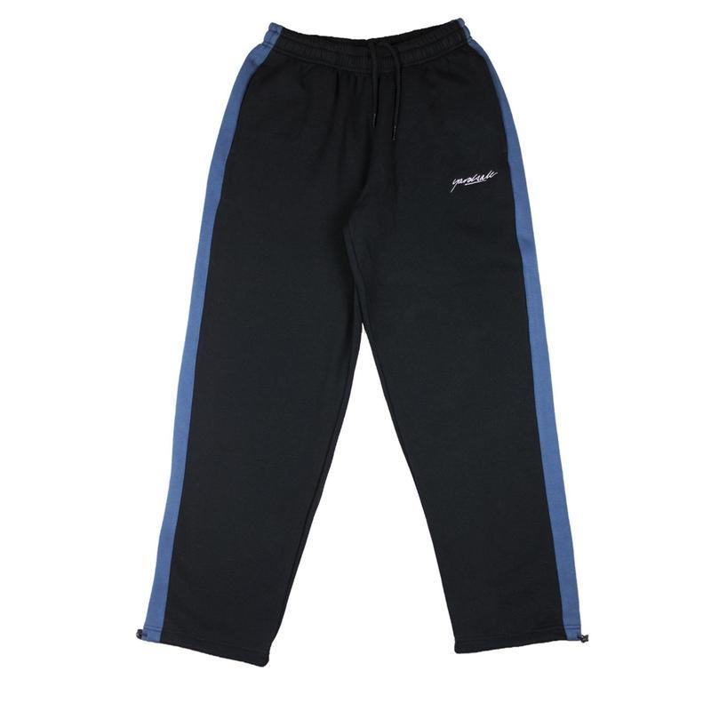 YARDSALE 2tone Tracksuit bottoms Black/Blue