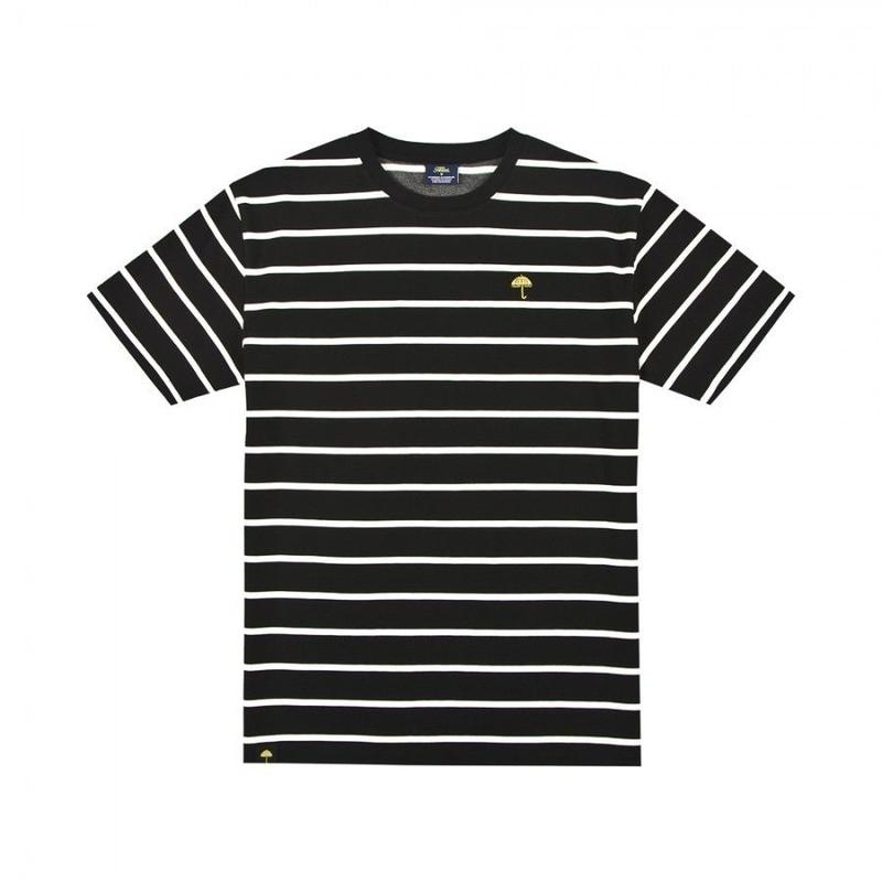 HELAS CLASSIC STRIPED TEE BLACK