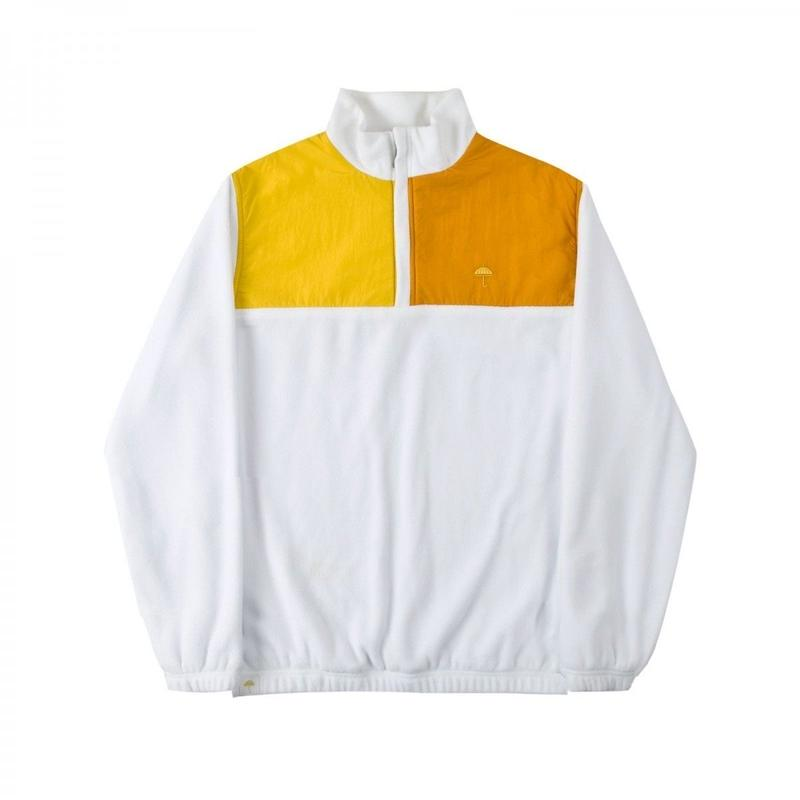 HELAS FREEZE QUARTER ZIP WHITE