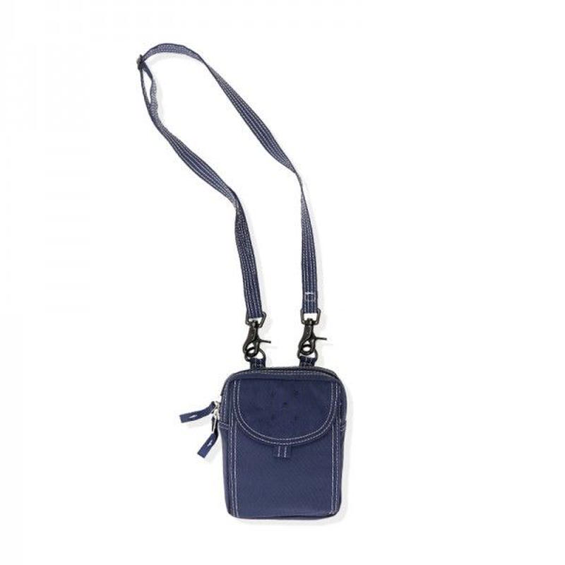 POPTRADING PASSPORT POUCH NAVY