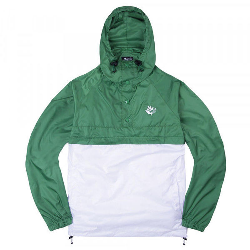 MAGENTA RETRACTABLE JACKET - GREEN