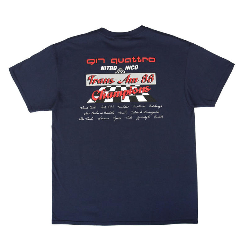 CALL ME 917 Nico Quattro T-Shirt Navy