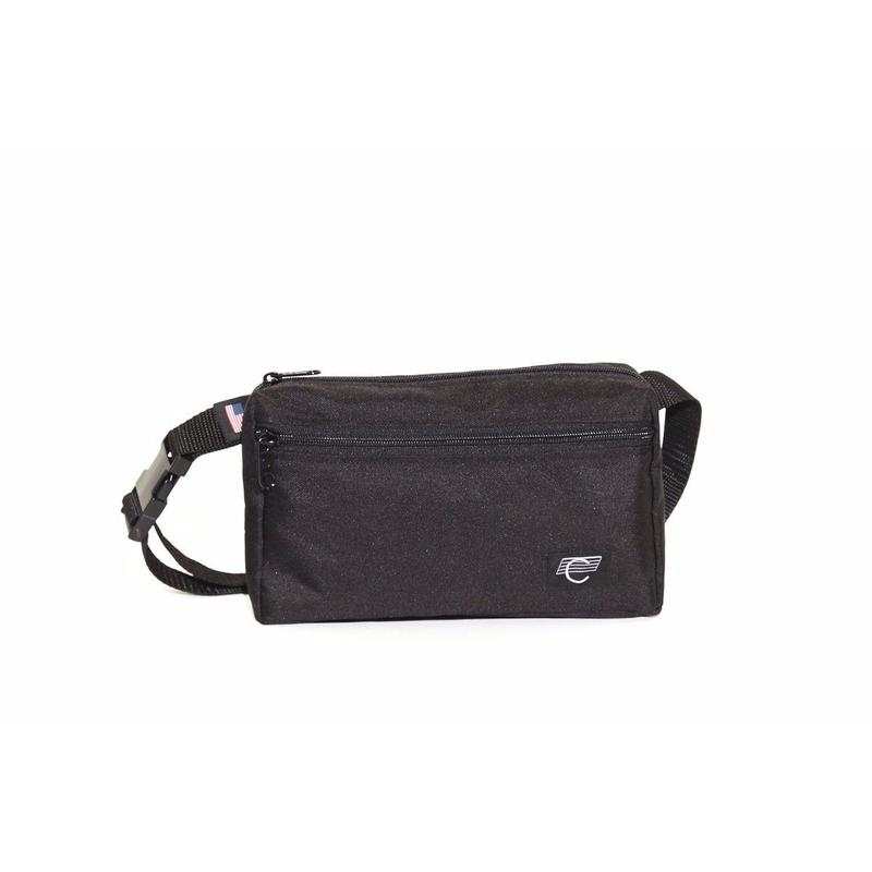 COMA Black Hip bag
