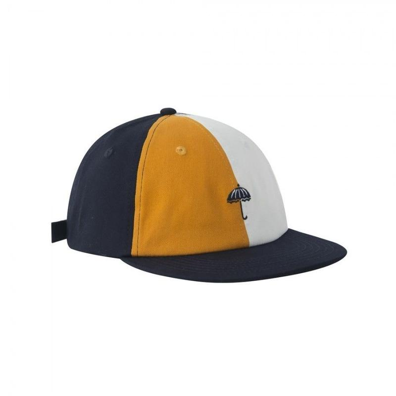 HELAS REGALIA 6 PANELS CAP NAVY/WHITE/BROWN