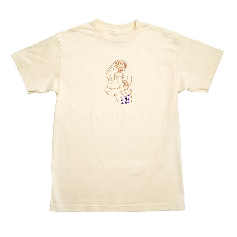 BRONZE SLURP TEE CREAM