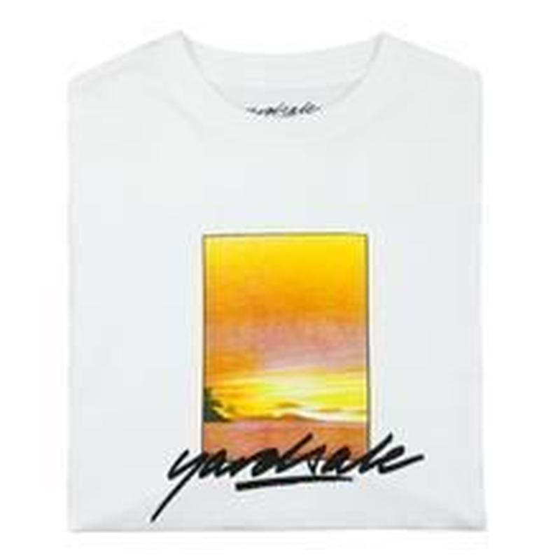 YARDSALE Campari T-shirt white