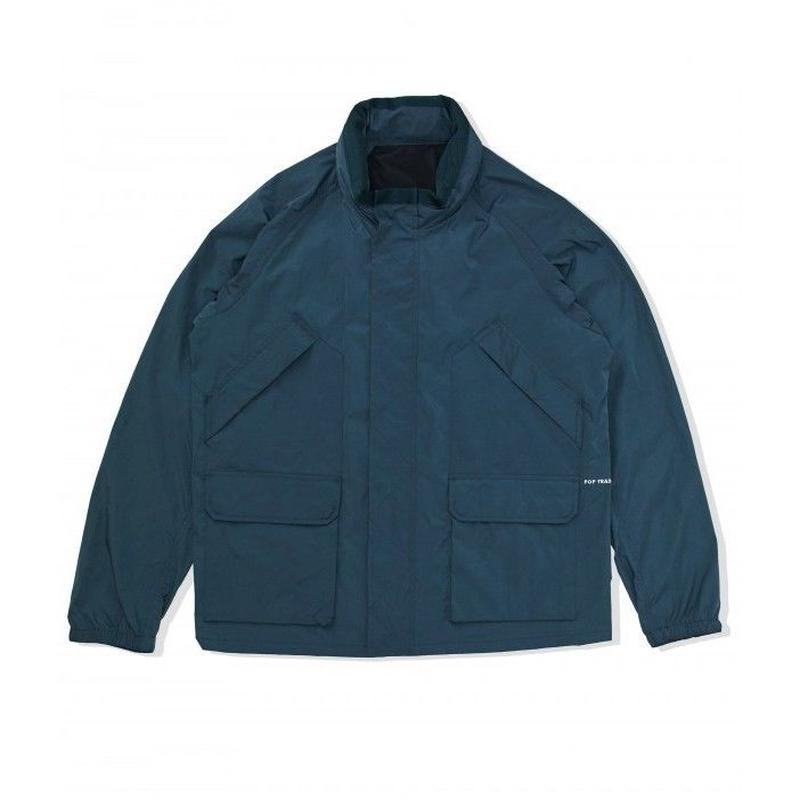 POP TRADING VENICE JACKET DARK TEAL