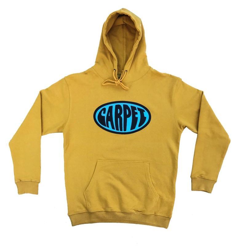 CARPET COMPANY FUNK PUFF HOODY Mustard