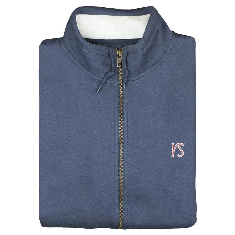 YARDSALE YS Fullzip Navy/White
