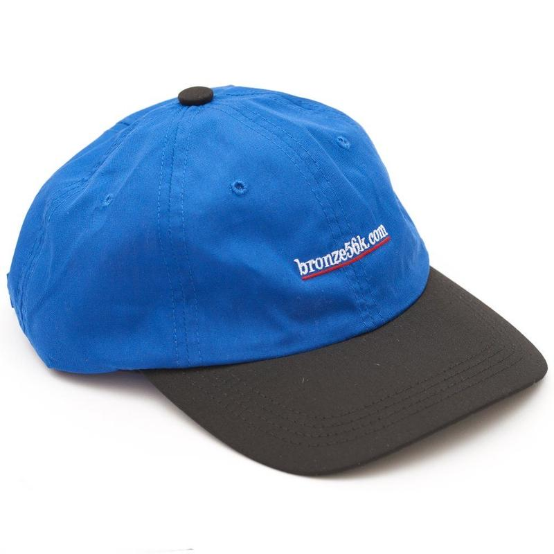 BRONZE56K 2 TONE SPORTS HAT BLUE/BLACK