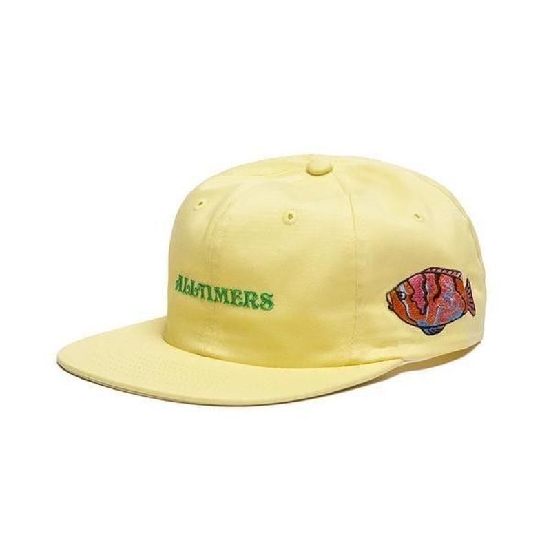 ALLTIMERS DEEP SEA HAT PALE YELLOW
