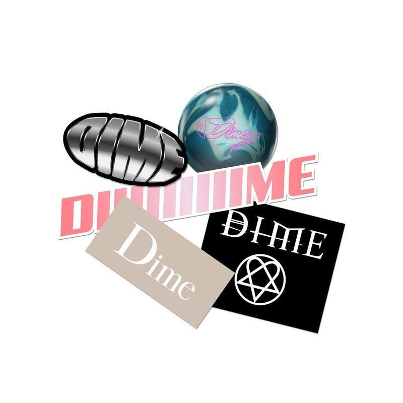 DIME STICKER PACK