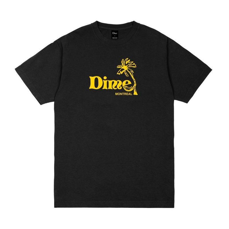 DIME ISLAND T-SHIRT Black