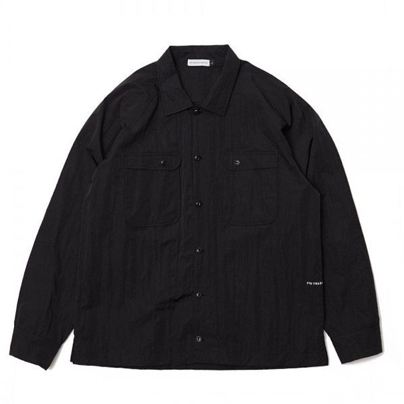 POP HERMAN SHIRT BLACK NYLON