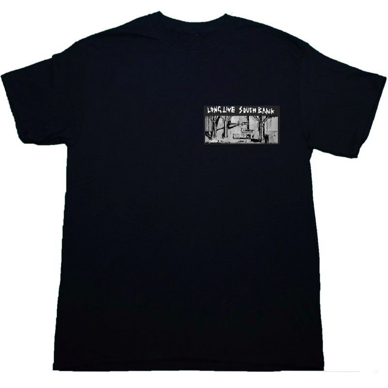LONG LIVE SOUTHBANK ARTIST SERIES 'ZIN V' LTD EDITION T-SHIRT BLACK
