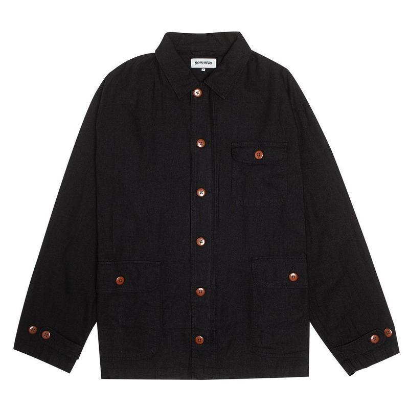 Fucking Awesome KOF Chore Coat Black