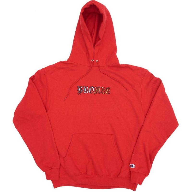 BRONZE56K ICY HOT HOODY SCARLETT