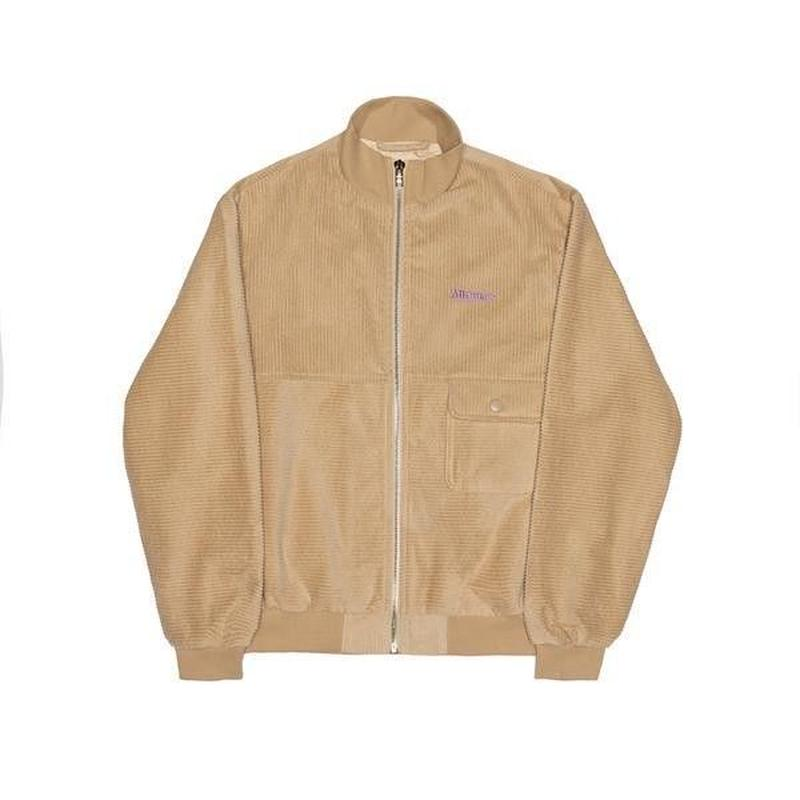 ALLTIMERS JEREMIH CORD JACKET TAN