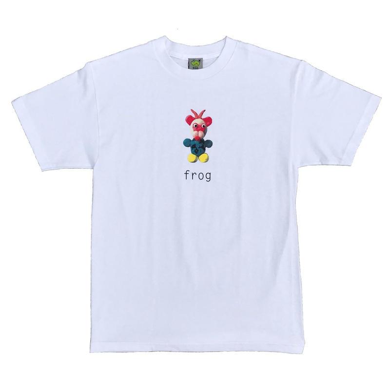 Frog Skateboards Mr. Greg S/S White