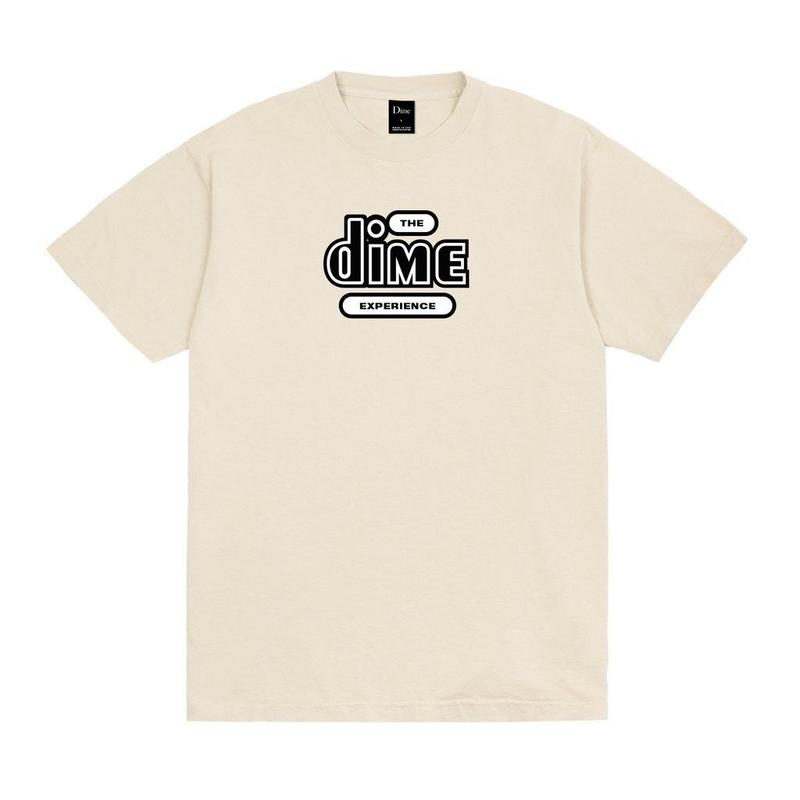 DIME EXPERIENCE T-SHIRT  Washed Cream