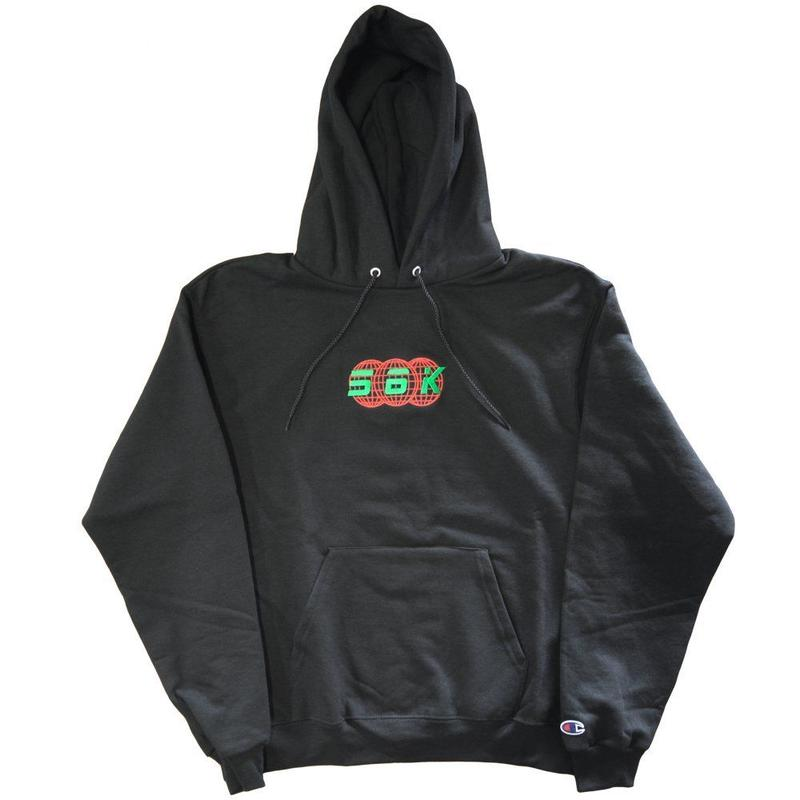 BRONZE56K 56K TECHNOLOGIES HOODY BLACK