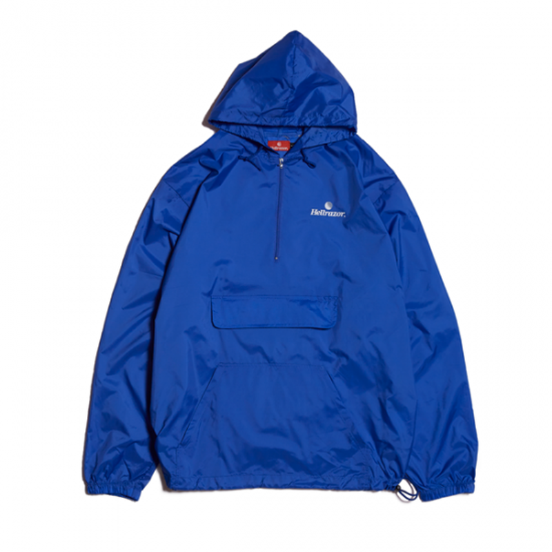 Hellrazor Trademark Logo Pullover JKT - Blue