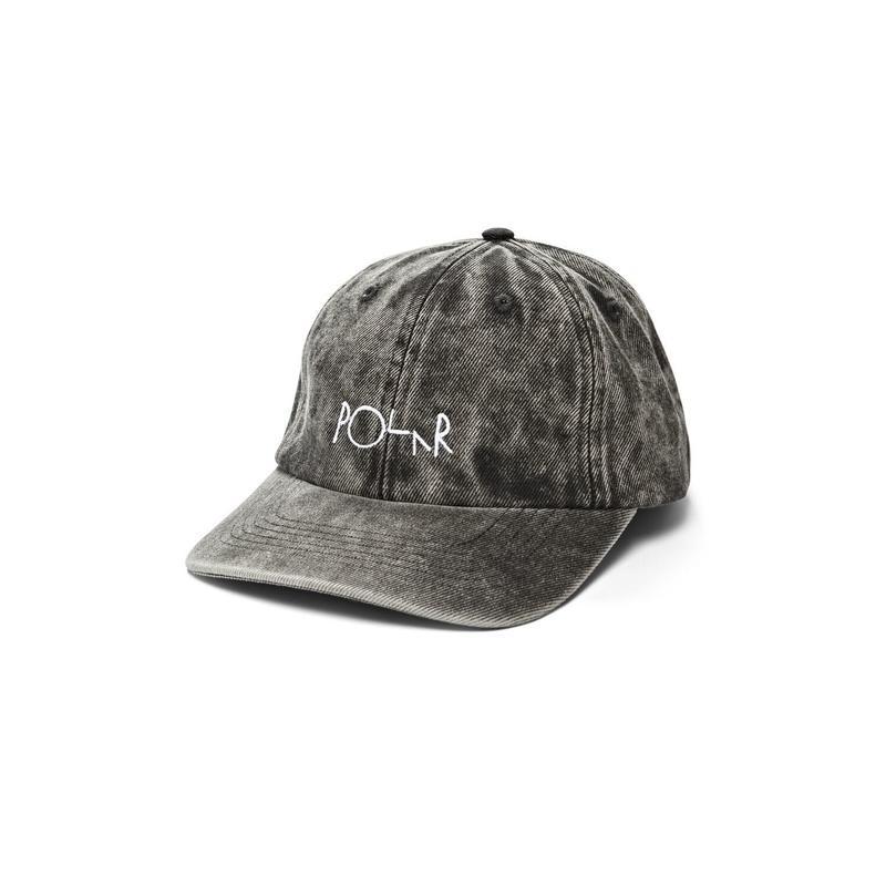 POLAR SKATE CO. DENIM CAP BLACK