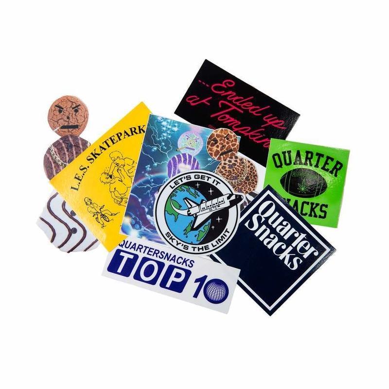 QUARTER SNACKS Sticker Pack