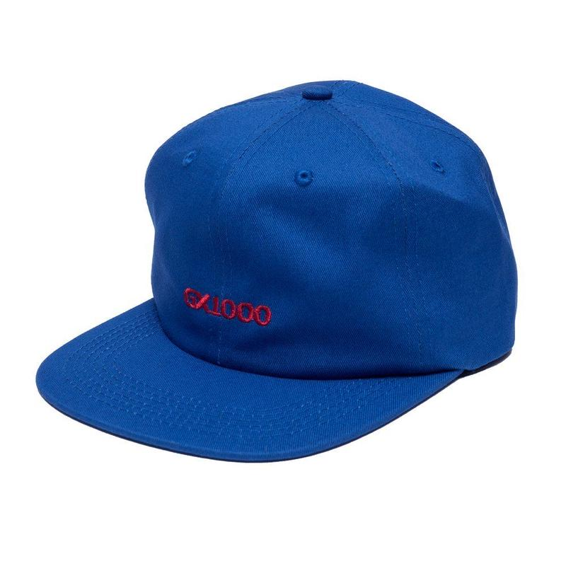 GX1000  OG LOGO 6 PANEL ROYAL