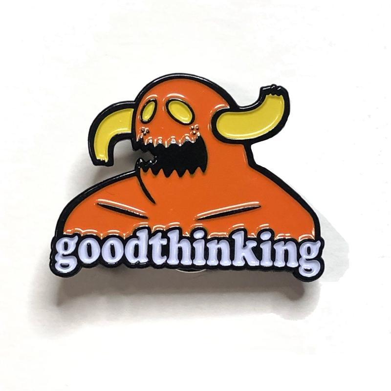 GOOD THINKING Good Machine Pin