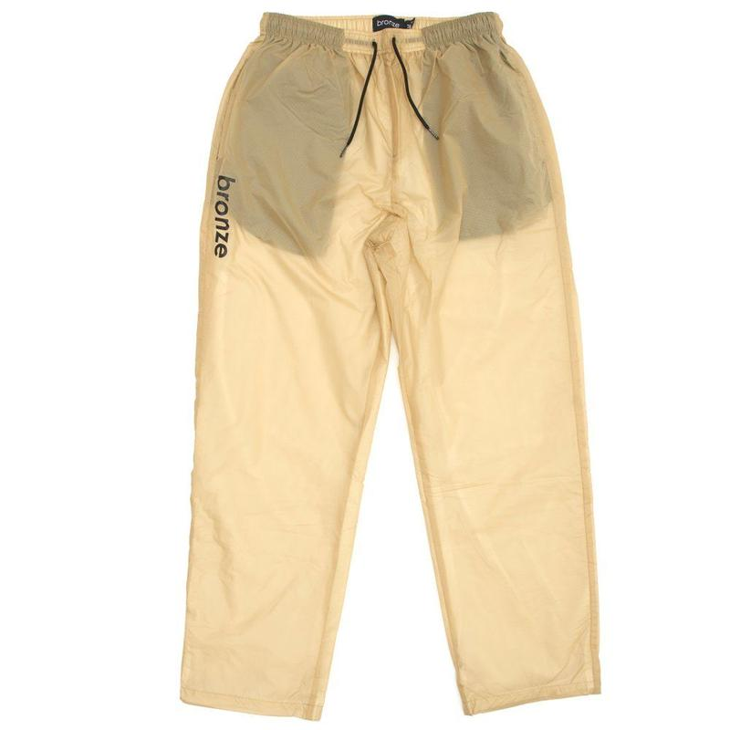 BRONZE56K SPORTS PANTS KHAKI/BLACK